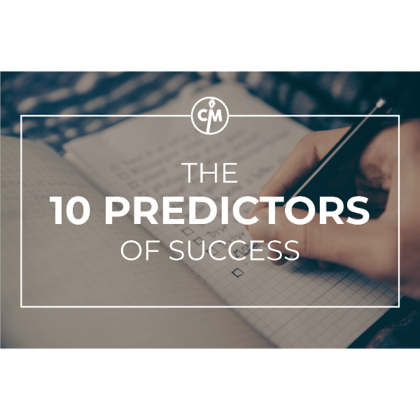 The 10 Predictors of Success as a Writer