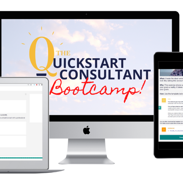 The QuickStart Consultant Bootcamp