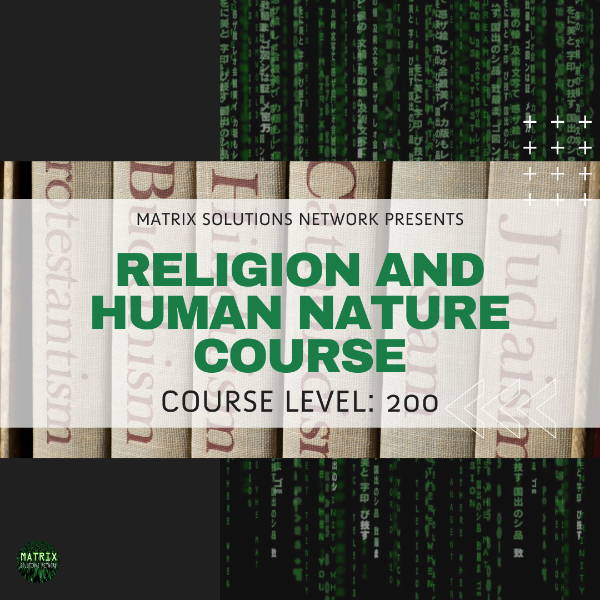CRS: Religion & Human Nature